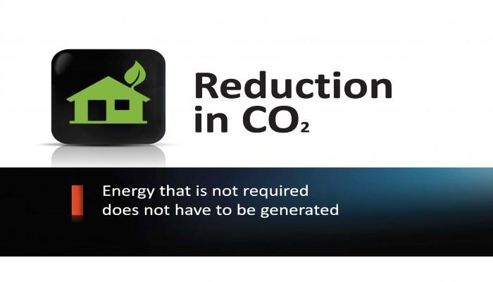 Vähennä hiilijalanjälkeäsi ilmaverholla - Tarpeetonta energiaa ei tarvitse tuottaa