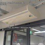 2 kpl ELLIPSE-F ilmaverhoja RAL 1013