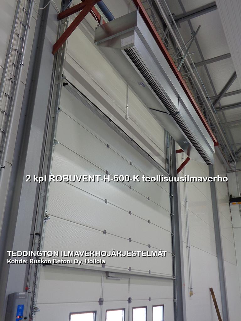 ROBUVENT-H-500-K teollisuusilmaverho