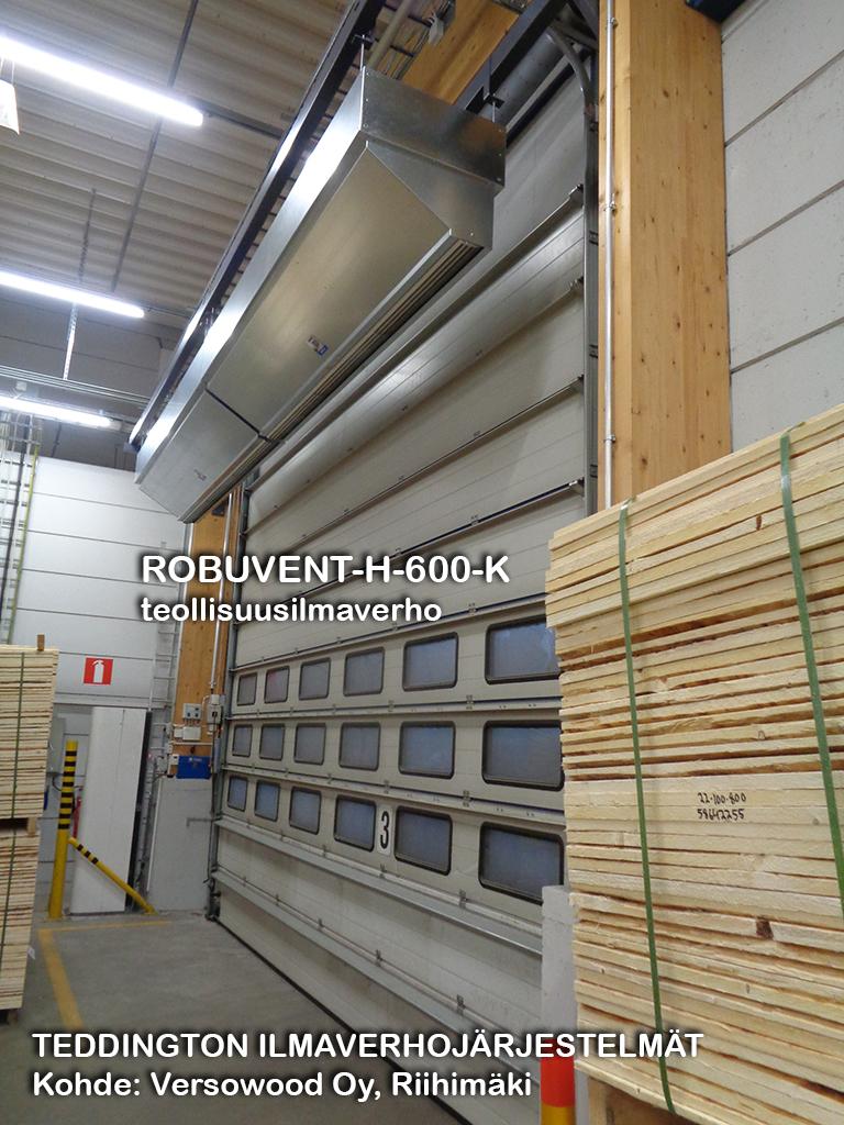 ROBUVENT-H-600-K teollisuusilmaverho