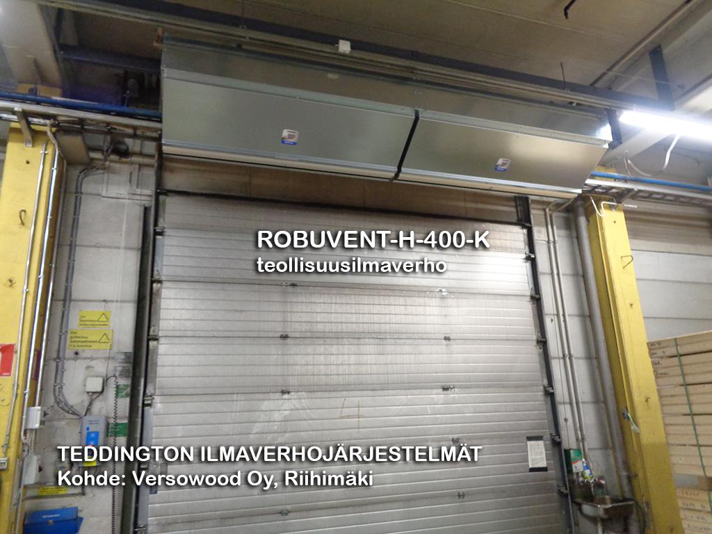 ROBUVENT-H-400-K teollisuusilmaverho