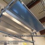 7 kpl INDUVENT-SZ-3.0 teollisuusilmaverho