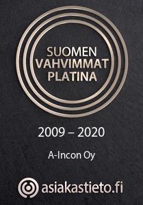 Suomen vahvimmat platina 2009 - 2020
