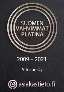 Suomen vahvimmat platina 2009 - 2021